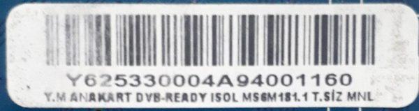 YM ANAKART DVB-READY ISOL MS6M181.1