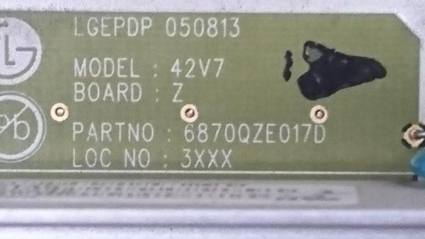 6870QZE017D K
