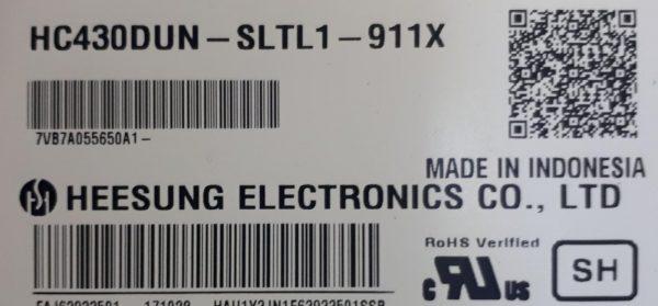 HC430DUN SLTL1-911X