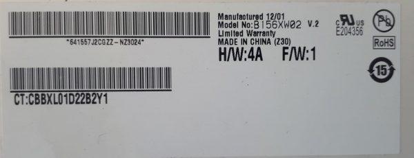 B156XW02 V2