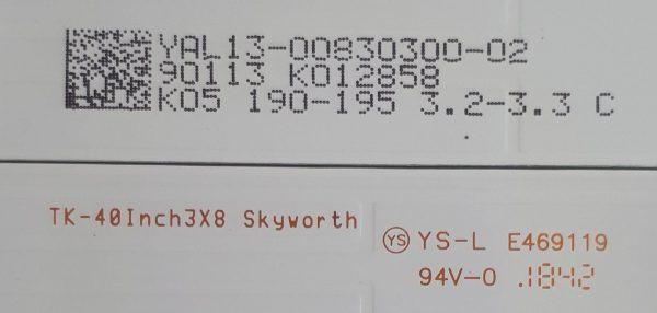 TK-40Inch3x8 Skyworth