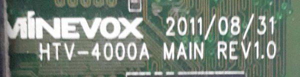 HTV-4000A MAIN REV1.0E
